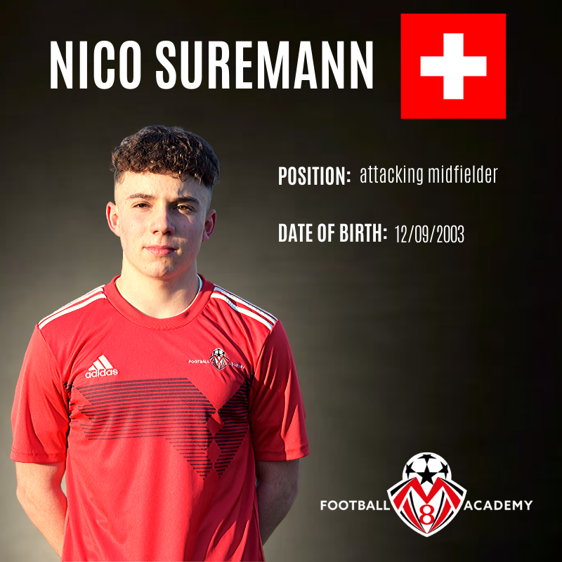 New signing for MV8 Football Academy!
