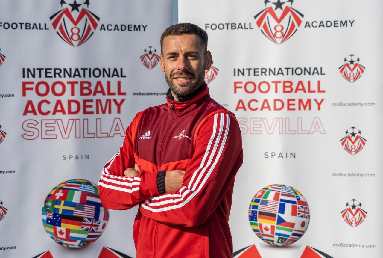 MV8 Football Academy is delighted to announce Alvaro Brachi as a new Coach