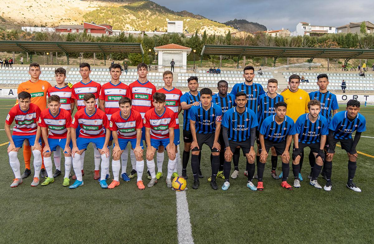The MV8 Football Academy visits F.C. Granada